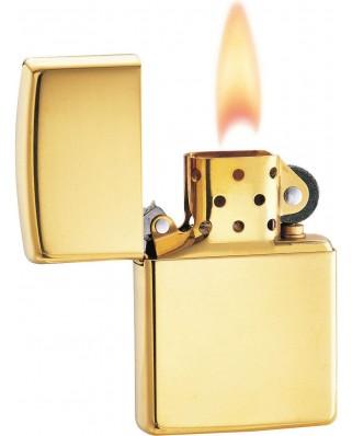 Zlatý Zippo zapaľovač No. 28001