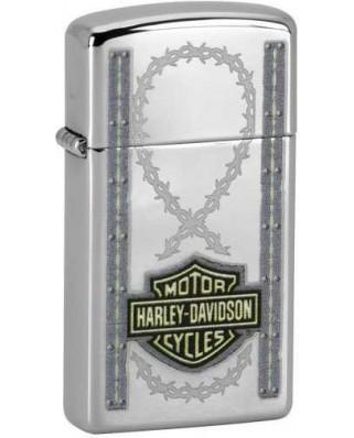 Zippo Slim Harley Davidson 22855