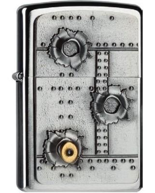 Zippo Bullet Holes 21805
