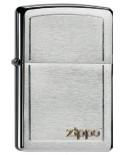 Zippo Logo Chrome 21808