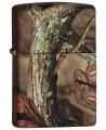 Zippo zapaľovač s motívom lesa.