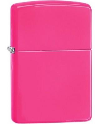 Zippo Neon Pink 26688