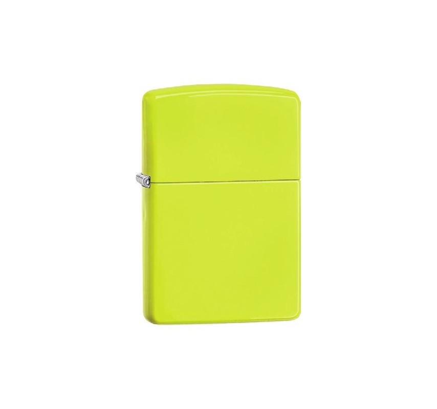 Zippo Neon Yellow 26689