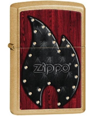 Zippo Leather Flame 28139
