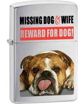 Zippo Missing Dog 21828