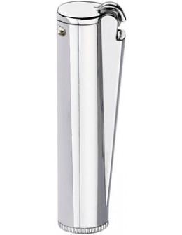 Clipper benzínový zapaľovač Shiny Silver
