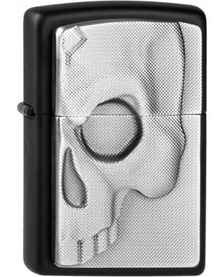 Zippo Half Skull Emblem 26816