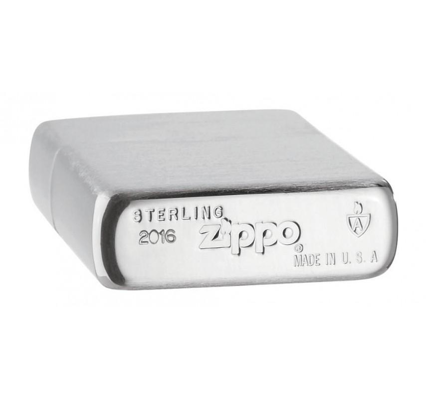 Strieborný Zippo zapaľovač 28003
