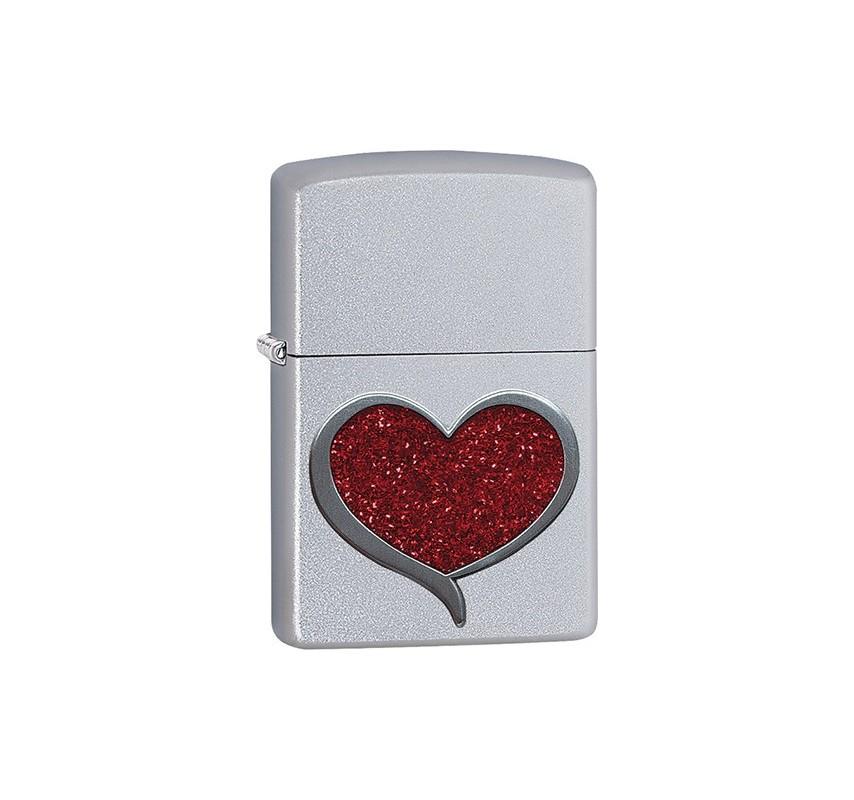 Zippo Glitter Heart 20042