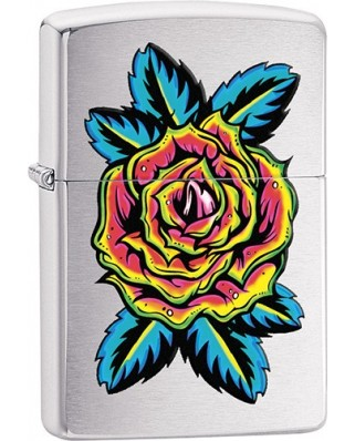 Zippo Flower Tattoo 21014