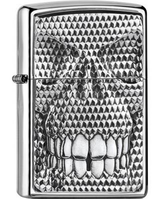 Zippo Carbon Skull 22035