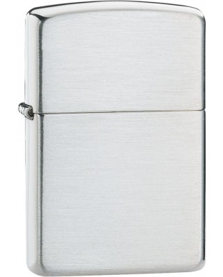Zippo Sterling Silver Brushed