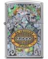 Zippo zapaľovač s motívom American Classic. Zippo je kovový benzínový zapaľovač s doživotnou zárukou a viac ako 80 ročnou tradíciou. Tieto kvalitné zapaľovače sa vyrábajú výhradne v USA.