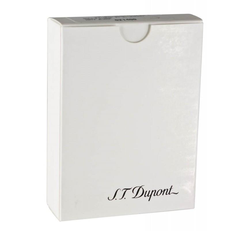 S. T. Dupont Minijet White Purple Lines