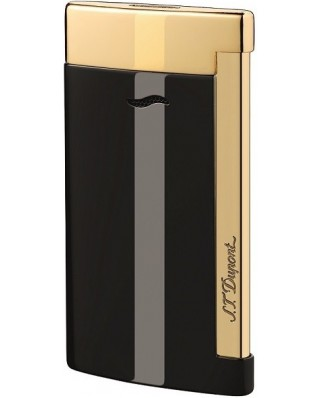 S. T. Dupont Slim Black Gold