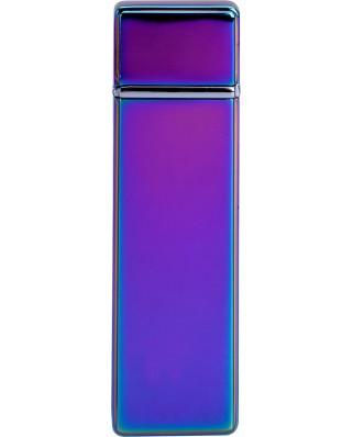 Kovový USB zapaľovač - Fialová