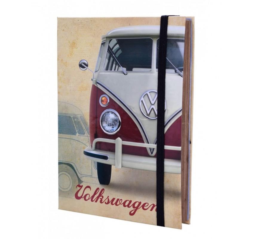 Retro Volkswagen - zapaľovač + tabatierka - Červená