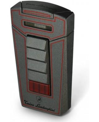 Lamborghini Aero zapaľovač - sivá / červená