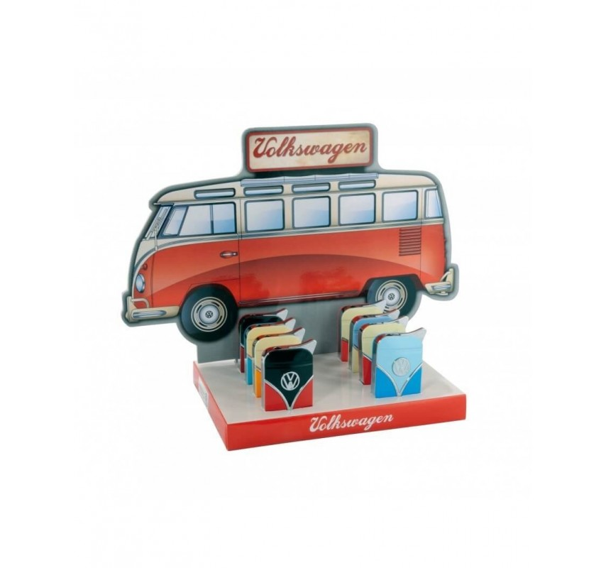 Zapaľovač Volkswagen Samba - čierna / červená