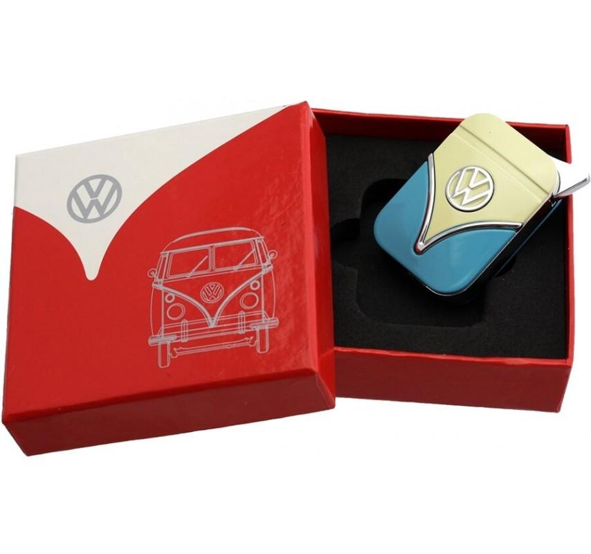 Zapaľovač Volkswagen Samba - žltá / modrá