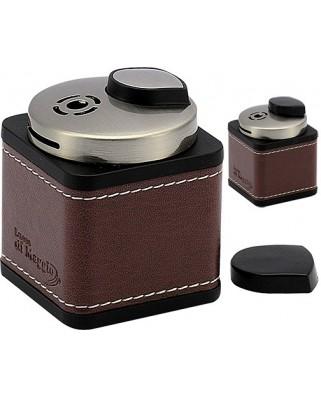 Stolový zapaľovač Cube Leather