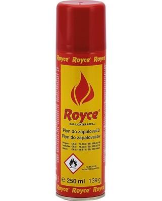 Plyn do zapaľovačov Royce 250ml