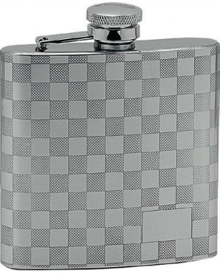 Silver Check Ploskačka