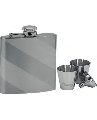 Set ploskačka + 2 poháriky 180ml 97051