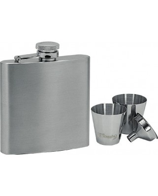 Set ploskačka + 2 poháriky 180ml 97052