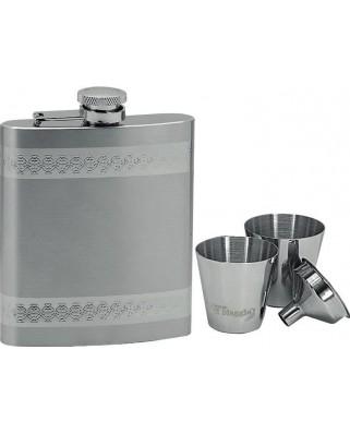 Set ploskačka + 2 poháriky 220ml 97060