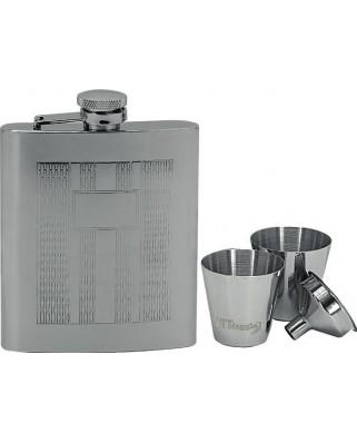 Set ploskačka + 2 poháriky 220ml 97061