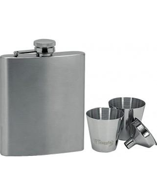 Set ploskačka + 2 poháriky 220ml 97064
