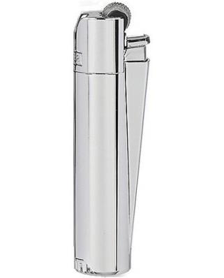 Clipper Fajkový zapaľovač Shiny Silver