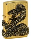 Zippo Snake Coil Gold 28153