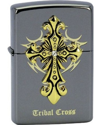 Zippo Tribal Cross 28160