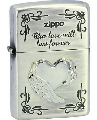 Zippo Wing Heart 28180