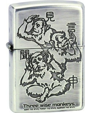 Zippo Three Monkeys 28188