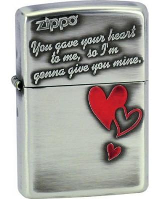 Zippo Triple Heart 28197