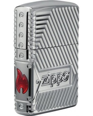 Zippo Armor Bolts Design 22048