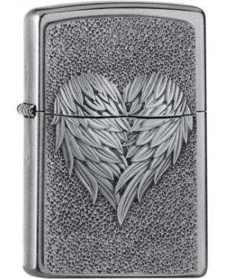 Zippo Heart Feathers 25501