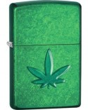 Zippo Stamped Leaf 26843