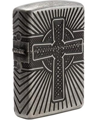 Zippo Armor Celtic Cross 27153