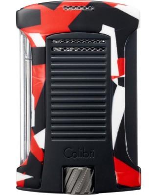 Colibri zapaľovač Daytona Camo Red/Camouflage