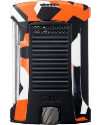Colibri zapaľovač Daytona Camo Orange/Camouflage