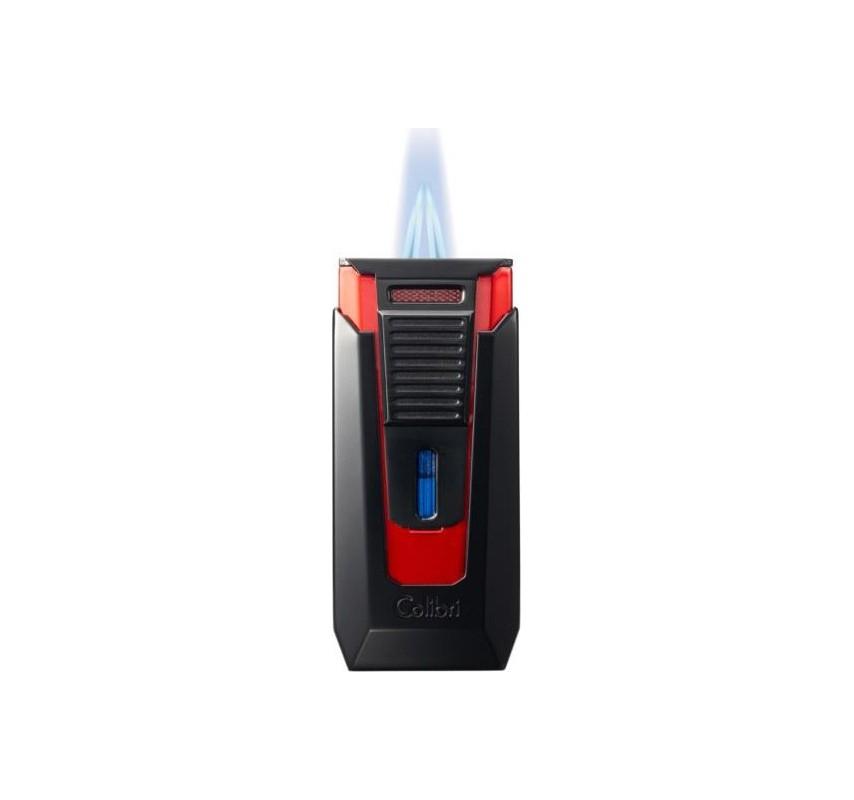 Colibri zapaľovač Slide Red/Black