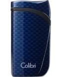Colibri zapaľovač Falcon Carbon Blue
