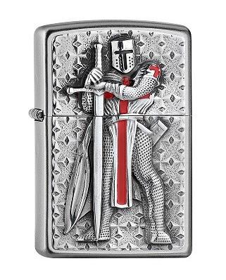 Zippo zapaľovač Templar Knight II.
