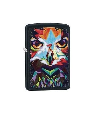 Zippo zapaľovač Colorful Owl