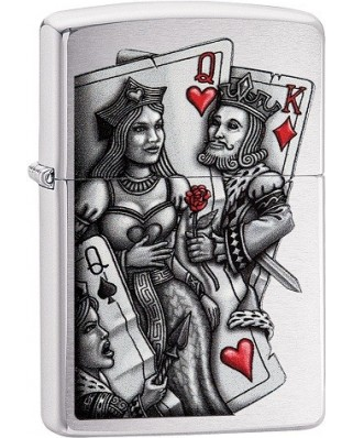 Zippo zapaľovač King and Queen