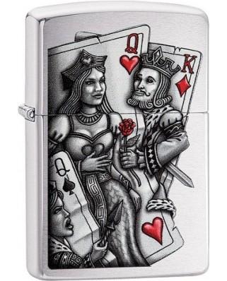 Zippo zapaľovač King and Queen
